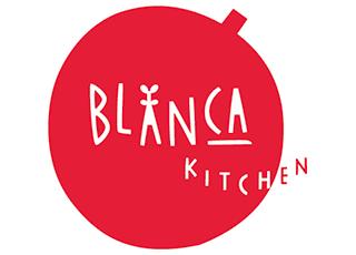 ブランカ食堂 ロゴ